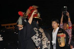 【第21回ながい黒獅子まつり〜豊里神社】:画像