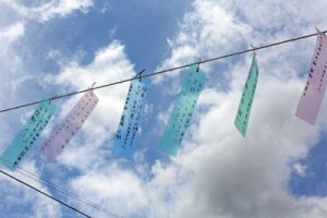 【星に願いを!〜第4回長井駅前七夕飾り】:画像