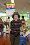 【加藤登紀子さんが菜なポートにいらっしゃいました】:画像