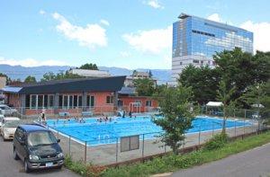【夏本番!市民小出プールがオープンしました】:画像