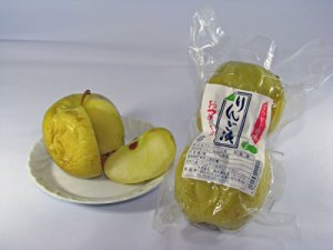 【しょっぱいスイーツ!?りんご漬の季節です】:画像