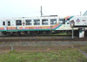 【もっちぃのラッピング列車】:画像