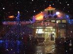 【長井駅がキラキラとライトアップしました】:画像