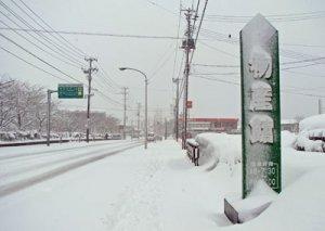 【雪の降るまち】:画像