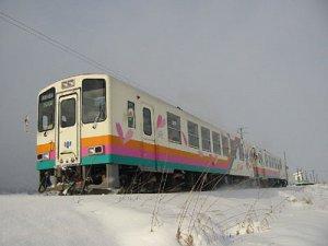 【フラワー長井線が運行を再開しています♪】:画像