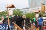 【第22回ながい黒獅子まつり〜上伊佐沢 伊佐沢神社】:画像