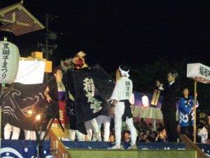 【第22回ながい黒獅子まつり〜 九野本 稲荷神社】:画像