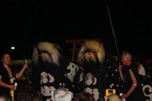 【第22回ながい黒獅子まつり〜小出 白山・皇大神社】:画像
