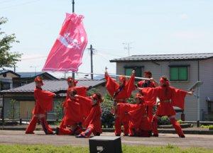 【灼熱!置賜よさこい祭りが開催されました!】:画像
