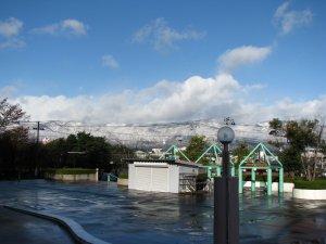 【ついに初雪が降りました!】:画像