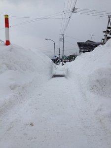 【雪の壁】:画像