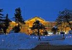 【長井小学校ライトアップ点灯式は大雪のため中止です】:画像