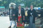 【第23回ながい黒獅子まつり〜上伊佐沢 伊佐沢神社】:画像