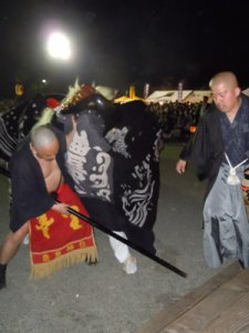 【第23回ながい黒獅子まつり〜時庭 豊里神社】:画像