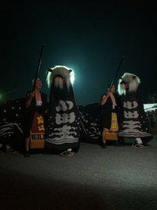 【第23回ながい黒獅子まつり〜小出 白山・皇大神社】:画像