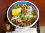 【夏メニュー!レインボー野菜×馬肉×米粉麺〜あやめそば舟越】:画像