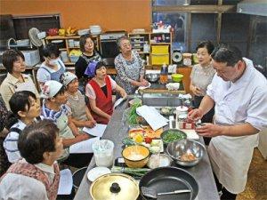 【行者菜たっぷり使って、行者菜料理教室!】:画像
