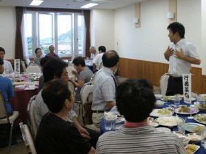 【行者菜料理試食会〜行者菜等産地化戦略会議】:画像