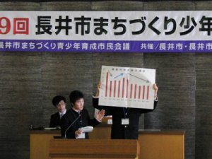 【第9回長井市まちづくり少年議会】:画像