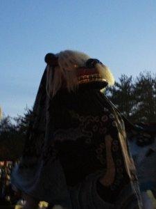 【第24回ながい黒獅子まつり〜川原沢 巨四王神社】:画像