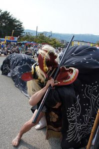 【第25回ながい黒獅子まつり〜平山 熊野神社】:画像