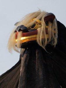 【第25回ながい黒獅子まつり〜上伊佐沢 伊佐沢神社】:画像