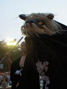 【第25回ながい黒獅子まつり〜寺泉 五所神社】:画像