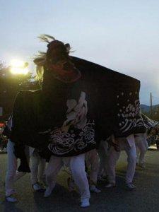 【第25回ながい黒獅子まつり〜河井 若宮八幡神社】:画像