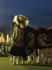 【第25回ながい黒獅子まつり〜時庭 豊里神社】:画像
