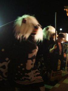 【第25回ながい黒獅子まつり〜小出 白山神社・皇大神社】:画像