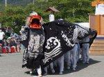 【第26回ながい黒獅子まつり〜豊里神社(時庭)】:画像