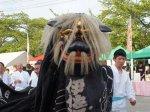 【第26回ながい黒獅子まつり〜伊佐沢神社(上伊佐沢)】:画像