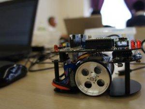 【マイクロマウスつぐっぺ♪ 技術講習会<27.7.11-12>】:画像