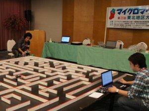 【明日のマイクロマウス東北地区大会に向けて、試走会開催!】:画像