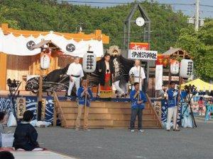 【第27回ながい黒獅子まつり〜伊佐沢神社(上伊佐沢)】:画像