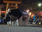 【第27回ながい黒獅子まつり〜若宮八幡神社(河井)】:画像