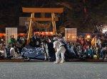 【第27回ながい黒獅子まつり〜稲荷神社(九野本)】:画像