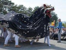 【第28回ながい黒獅子まつり− 招待神社 稲荷神社(西高玉)..:画像