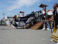 【第28回ながい黒獅子まつり−八雲神社(九野本)−】:画像
