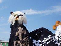 【第28回ながい黒獅子まつり−白山神社(十日町)−】:画像