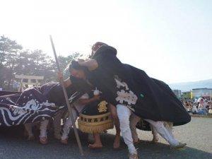 【第28回ながい黒獅子まつり−五所神社(寺泉)−】:画像
