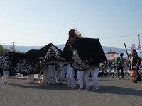 【第28回ながい黒獅子まつり−若宮八幡神社(河井)−】:画像