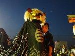 【第28回ながい黒獅子まつり−稲荷神社(今泉)−】:画像