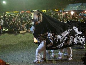 【第28回ながい黒獅子まつり−歌丸神社(歌丸)−】:画像
