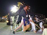 【第28回ながい黒獅子まつり−羽黒神社(泉)−】:画像