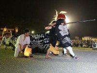 【第28回ながい黒獅子まつり−總宮神社(宮)−】:画像