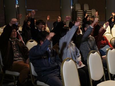【パブリックビューイングで鈴木沙織選手を応援!】:画像