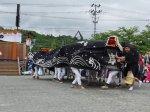 【第29回ながい黒獅子まつり−津嶋神社(草岡)−】:画像