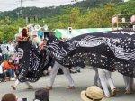 【第29回ながい黒獅子まつり−稲荷神社(今泉)−】:画像