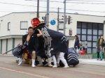 【第29回ながい黒獅子まつり−稲荷神社(九野本)−】:画像